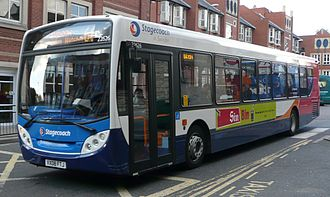 Alexander Dennis Enviro300 - Second generation Enviro300-bodied MAN 18.240 with Stagecoach in Swindon in October 2008