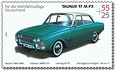 Stamp Germany 2003 MiNr2365 Ford Taunus 17 M P3.jpg