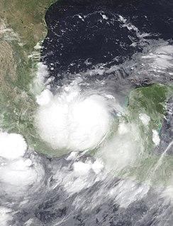 Hurricane Stan Category 1 Atlantic hurricane in 2005