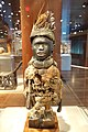 Standing power figure, Democratic Republic of Congo, Kongo people, 19th century, wood, feathers, glass, metal, fiber - De Young Museum - DSC01044.JPG