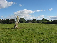 Standing stone at Rathiddy - geograph.org.uk - 569217.jpg