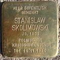 Stanislaw Skolimowski Stolperstein.jpg