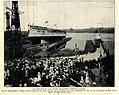 Stapellauf des deutschen Panzerschiffs 'Schlesien' in Danzig, 1906.jpg
