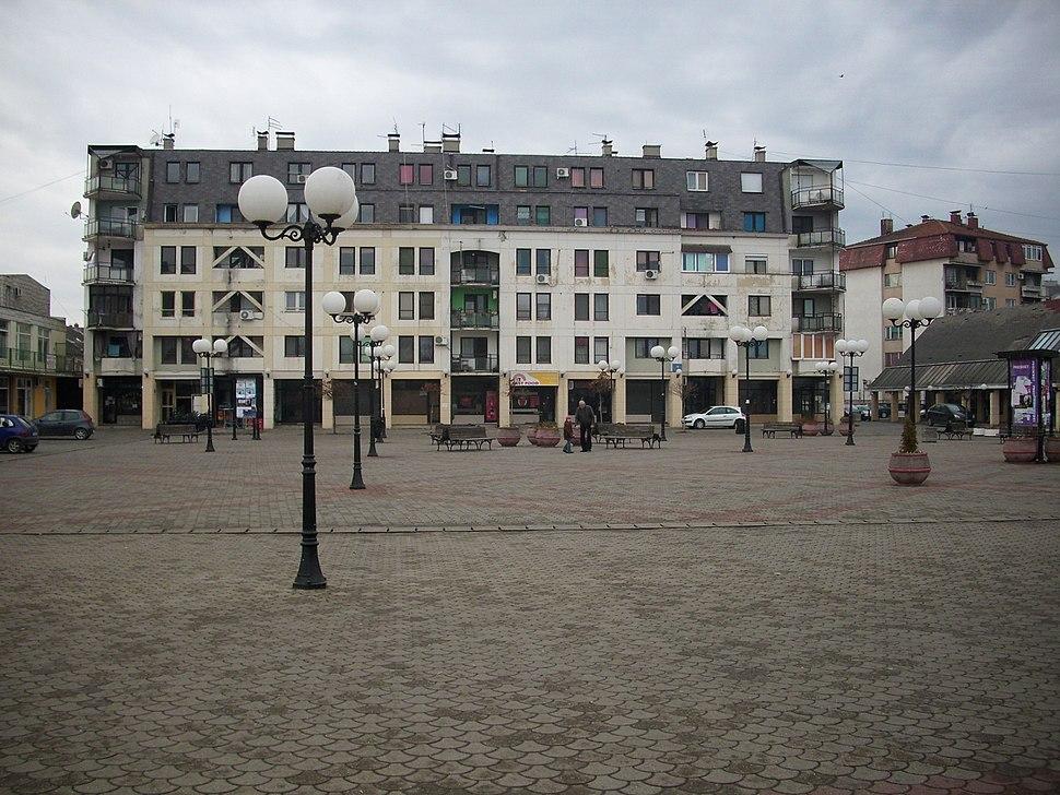 Stara Pazova - Trg Zorana Đinđiđa