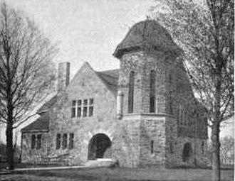Eastern Michigan University Historic District - Starkweather Hall, c.1899