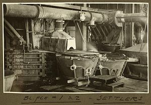 Mount Isa - Smelter interior, 1932