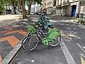 Station Vélib' Place Fraternité Montreuil Seine St Denis 1.jpg