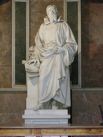 Aristodemo Costoli - Image: Statua di galleo, aristodemo costoli 01