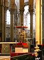 Statue-reliquaire de Sainte-Foy exposée dans l'abbatiale le jour de la sainte Foy 10-10-2010.jpg