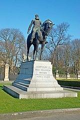 Leopold II equestrian statue