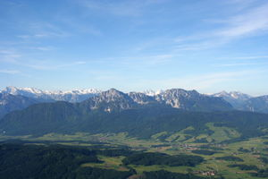 Rupertiwinkel - Image: Staufen mountain germany