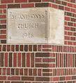 Steinauer St. Anthony cornerstone 1.JPG