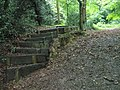 Steps at the start of the footpath from Church Road to School Road - geograph.org.uk - 1462278.jpg