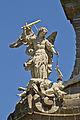 Stift Zwettl - Stiftskirche - Figur hl Michael.jpg