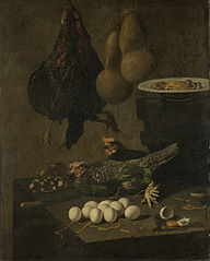 Still Life with Chickens and Eggs