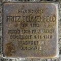 Stolperstein Bundesplatz 2 (Wilmd) Fritz Blumenfeld.jpg