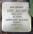 Stolperstein Hohenstaufenstr 50 (Schön) Käte Jacoby.jpg
