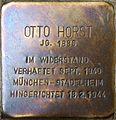 Stolperstein Salzburg, Otto Horst (Paris-Lodron-Straße 9).jpg