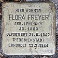 Stolperstein Stierstr 18 (Fried) Flora Freyer.jpg
