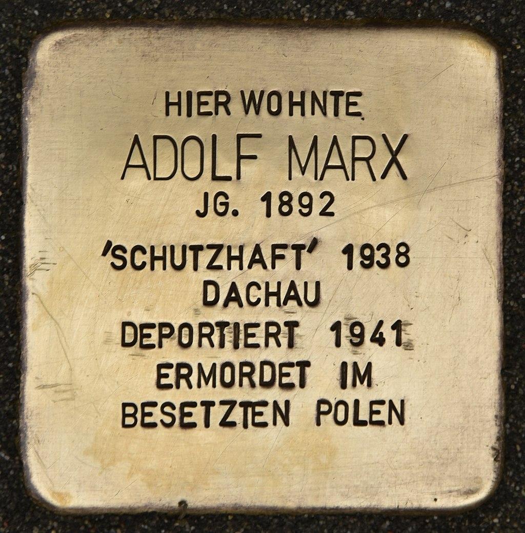 Stolperstein für Adolf Marx (Miltenberg).jpg