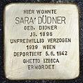 Stolperstein für Sara Düdner.jpg