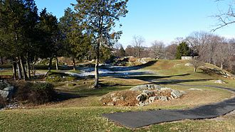 Battle of Stony Point - The historic site at Stony Point.