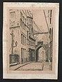 Straat bij het Steen, Antwerpen, in 1881.jpg