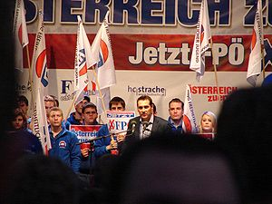 Final election campaign of FPÖ - HC Strache Vi...
