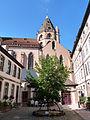 Strasbourg-Eglise Saint-Thomas depuis la cour du Stift (2).jpg