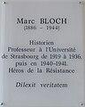 Strasbourg-Plaque Marc Bloch.jpg