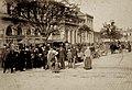 Strasbourg marché aux puces à l'Ancienne Gare vers 1885.jpg