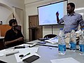 Strategy meet at NUJS by West Bengal Wikimedian.jpg