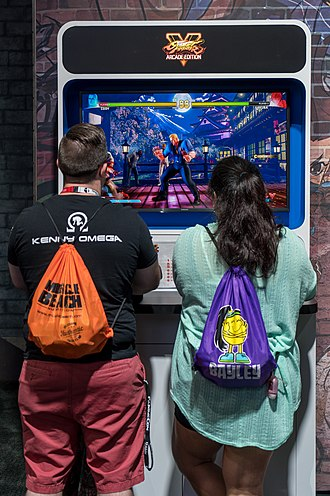 Street Fighter - Playing Street Fighter V: Arcade Edition at E3 2018