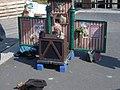 Street musician's puppet house - geograph.org.uk - 832283.jpg