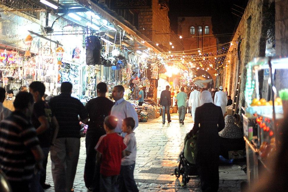 Streets of Jerusalem by night 029 - Aug 2011