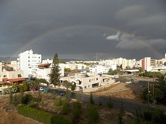 Strovolos - Rainbow over Strovolos