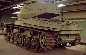 Stridsvagn 74 - Image: Strv 74 Rear