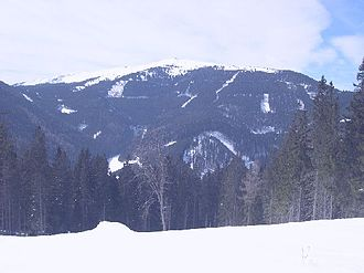 Styrian Prealps - The Stuhleck (1,782 m) in winter