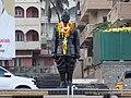 Subhas Chandra Bose statue, Vizag.jpg