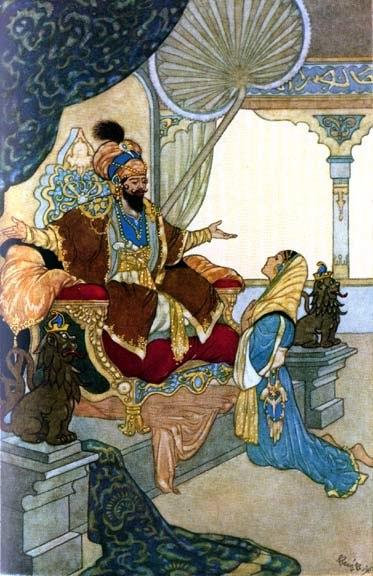 Sultan from arabian nights