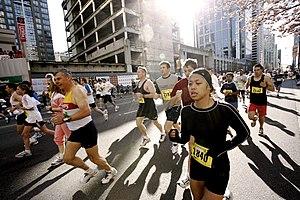 Vancouver Sun Run - Vancouver Sun Run in 2006