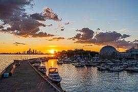Sunset at Ontario Place.jpg