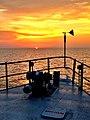 Sunset on the RV Laurentian (13466701615).jpg