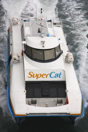 Supercat Fast Ferry Corporation - Supercat 30 Aerial Shot