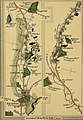 Survey of the high roads of England and Wales - part the first comprising the counties of Kent, Surrey, Sussex (etc.), planned on a scale of one inch to the mile accompanied by indexes, topographic (14762191256).jpg
