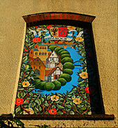 Sutton twin towns mural sunlit in June, SUTTON, Surrey, Greater London (3).jpg