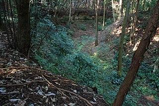 Castle ruins in Shimoda, Japan