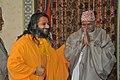 Swamiji with Nepal President.jpg