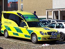 Car Based Ambulance In Sweden