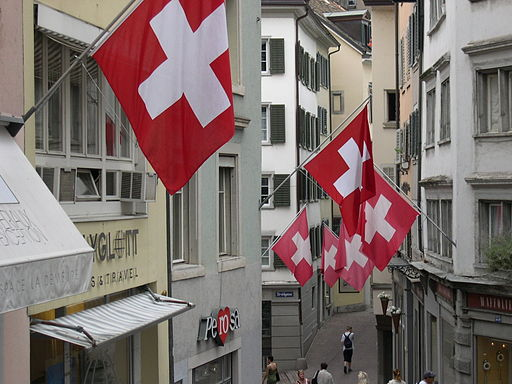 Swiss Flags Zurich
